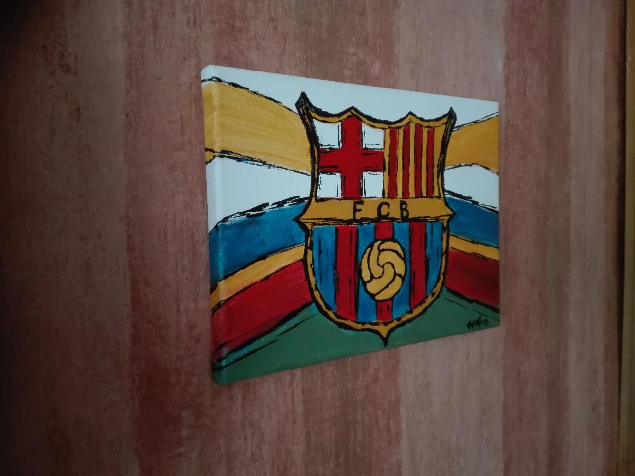 fc barcelona veb bydgoszcz akryl obraz eeve