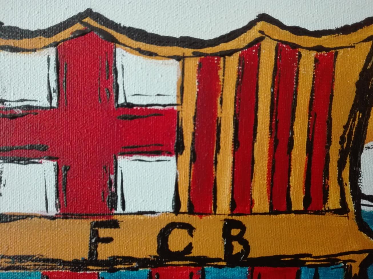 fc barcelona veb bydgoszcz akryl obraz