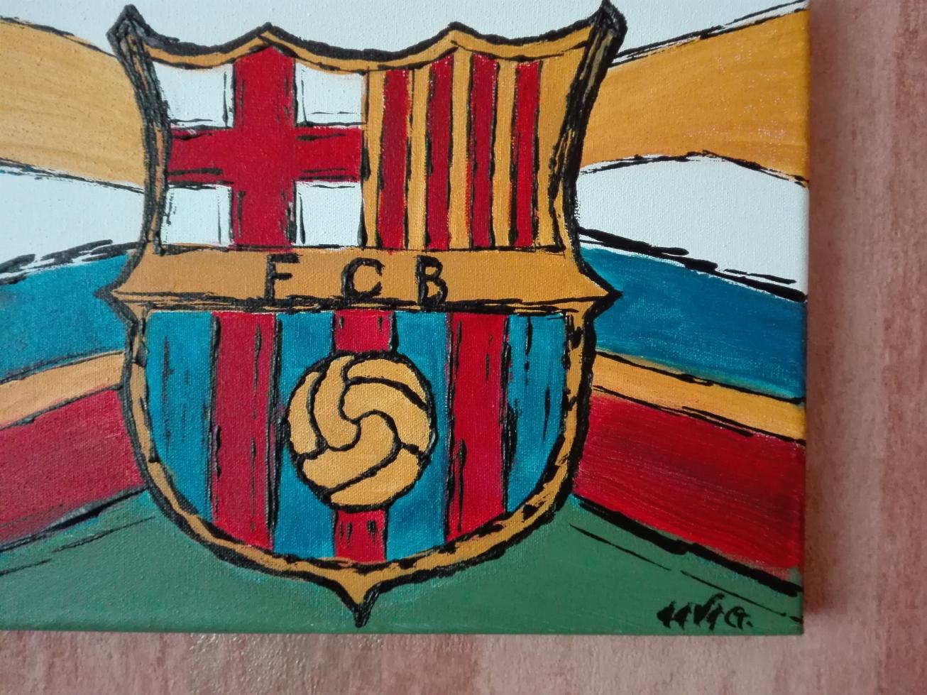barcelona veb bydgoszcz akryl obraz eeve