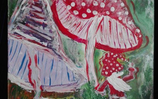 muchomorkowy krasnal